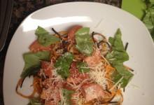 Caprese Style Sweet Potato Pasta